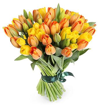 Тюльпаны к 8 марта в Екатеринбурге оптом